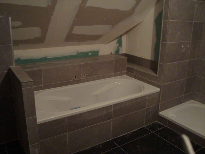 Salle bain carrel e maison - Salle de bain carrelee ...